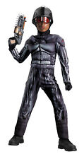 Exo Swat Classic Muscle Child Boys Costume Operation Rapid Strike Red Sector