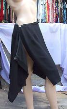 JOSEPH RIBKOFF GB 12 Bnwt Fantástico ELEGANTE envolvente negro falda pedrería