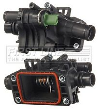 FIAT SCUDO 1.6D Coolant Thermostat 2007 on 9HU Firstline 9647767180 Quality New