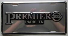 2005 PARIS TENNESSEEu0027s PREMIER NISSAN DEALERSHIP BOOSTER License Plate