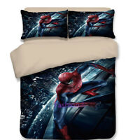 Spiderman Single/Double/Queen/King Size Bed Quilt/Doona/Duvet Cover Set