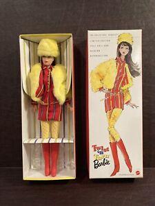 NEW 1997 Fashion Reproduction BARBIE TWIST N TURN 1967 Brunette 18941