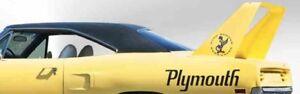 1970 Plymouth Superbird Black Vinyl Top/Mopar