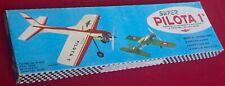 Vintage Aeromodelli Super Pilota 1 Control Line Trainer - Cremona, Italy - Rare!
