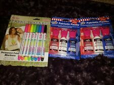 Tulip Dimensional Fabric Paints and markers lot. NEW CRAFTS