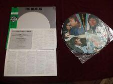 THE BEATLES RARE JAPANESE PICTURE DISC/PK-25014(M) TRIO RECORDS MONO 1982