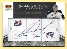 10/11 Crown Royale Scratching The Surface #94 Steve Mason Autograph #010/100