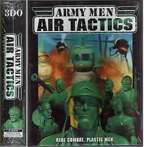 ARMY MEN AIR TACTICS REAL COMBAT PLASTIC MEN PC CD-ROM GIOCO PC GAME NUOVO