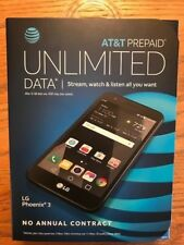 AT&T PREPAID PHOENIX 3 No Annual Contract BRAND NEW CELL PHONE