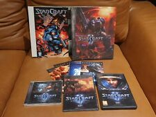 Starcraft Wings of Liberty collector Limited Edition complete DVD game for PC