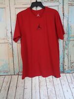 Nike Air Jordan Red Men's L T-shirt, SS, Sports, Athletic, Graphic Basketball