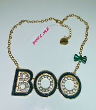 Betsey Johnson Halloween Boo Pendant Necklace Pk1