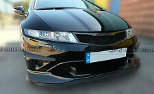 For Honda 2007-2011 Civic FN2 Type R FRP Front Bumper Grill Mesh Accessories Kit
