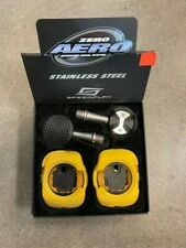 NIB Speedplay Zero Aero stainless pedals with cleats