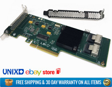 LSI SAS 9211-8i 8-port 6Gb/s PCI-E Internal HBA Both Brackets - IT MODE