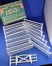 O/S - Plasticville - #3-F - HTF Boxed Platform Fence & Gate - VG Condition