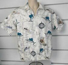 VTG MR CASUAL Men's S/S Lightweight Boat Or Beach Jacket Terry Lined Sailfish