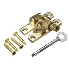 Sash Window Mini Locking Brighton Sash Fastener Solid Brass