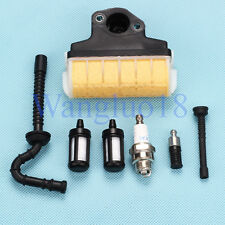 Air Filter Spark Plug Kit For STIHL Chainsaw 021 023 025 MS210 MS230 MS250 NEW