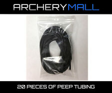 (20) 1 Foot pieces of peep rubber tubing  / buy at whole sale price!!!
