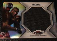 Phil Davis UFC 2012 Topps Finest Jumbo Mat Relics #FFJM-PD
