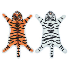 Cartoon Tiger Shape Home Entrance Door Mat Absorbent Non-slip Bedroom Carpet