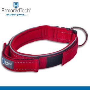 ArmoredTech Hundehalsband L rot | Halsumfang 45 - 53 cm