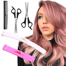 YMHPRIDE 5 Pcs Hair Cutting Tools, Professional Home Hair Cutting Clips, DIY for