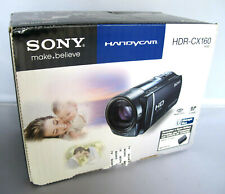 Sony Handycam HDR-CX160 16GB HD Flash Memory Camcorder - Midnight Blue