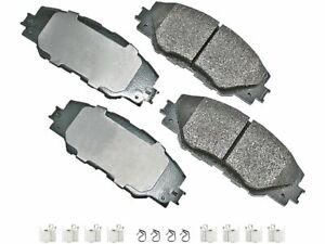 Front Brake Pad Set Akebono 3PCF32 for Scion tC iM 2011 2012 2013 2014 2015 2016