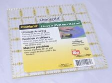 NEW Omnigrid Quilters Square-6 in. x 6 in. (15.24 cm x 15.24 cm) R6A