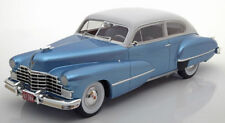 Cadillac 1946 Series 62 Club Coupé Blue and Light Grey by BOS 1.18 scale