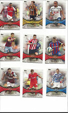 2014-15 TOPPS PREMIER GOLD LEAGUE SOCCER 20-CARD FUTURE STARS INSERT SET