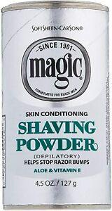 Magic Platinum Shaving Powder 127 grams  Skin Conditioning !! Fast Delivery !!