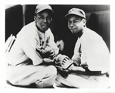 MONTE IRVIN & LARRY DOBY 8X10 PHOTO NEWARK EAGLES BASEBALL PICTURE NEGRO LEAGUE