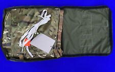 More details for new british army mtp basha shelter sheet tarpaulin poncho emergency stretcher