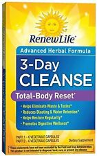 3-Day Cleanse Total Body Reset, Renew Life,