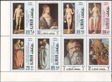 Ajman 1971 Albrecht Durer/Adam/Eve/Artists/Art/Paintings/Nude/Naked blk (b2697a)