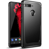 Essential Phone PH-1 Case,Poetic Soft Black TPU Shockproof Protector Cover Black