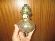 Ancienne Lampe Réservoir Applique à piano Kosmos W&W en verre à pétrole