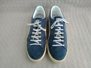 Authentic puma suede men's blue sneaker made in Japan size 10½ Us