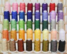Premium Polyester Brother Machine Embroidery Thread Set - 40 Color