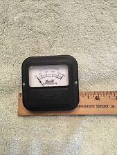 Vintage Radio Panel Meter Shurite Dc Milliamperes 0 400 Me542