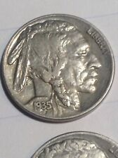 BUFFALO NICKEL LOT (8) COINS CRAFT JEWELRY 1914/1835/1936D