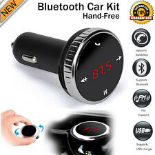 Wireless LCD MP3 Player Bluetooth Car Kit SD MMC USB FM Transmitter Modulator UK