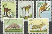 Timbres Animaux Guinée 1051L/Q o lot 25240
