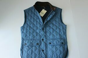 Barbour Lowerdale Vest Quilted Tide Blue MQU0495BL58 New Medium M