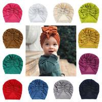 Baby Girl Infant Bow Knot Newborn Headband Turban Headwrap Hair Accessories New