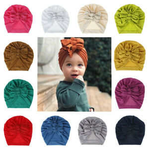 Baby Girl Infant Bow Knot Newborn Headband Turban Headwrap Hair Accessories New