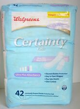 Certainty 42 Pads Ultra PLUS Absorbency Women BLADDER Protection Incontinence NW